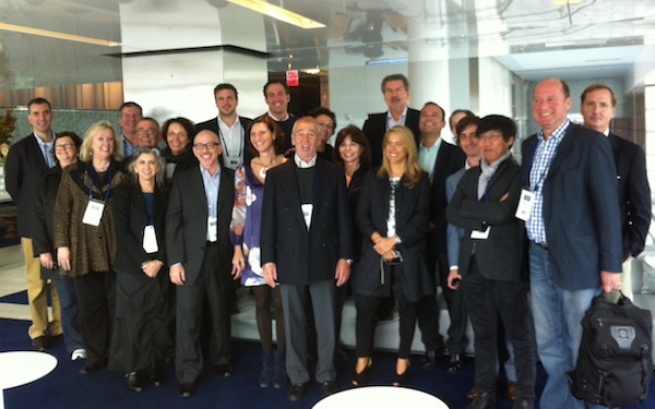 Some of the attendees at the 2011 Adforum Worldwide Summit - sample n=28 (excluding TrinityP3)