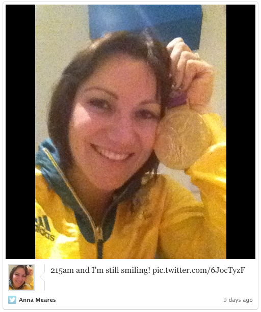 Anna Meares Twitter