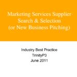 Marketing services supplier