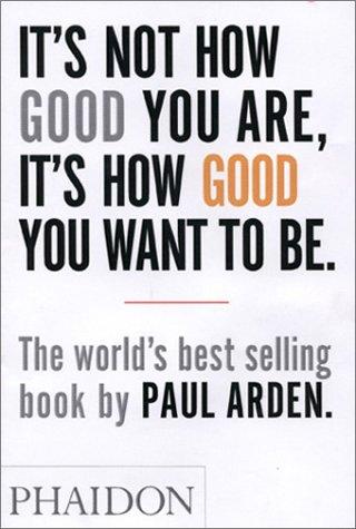 Paul Arden's Book