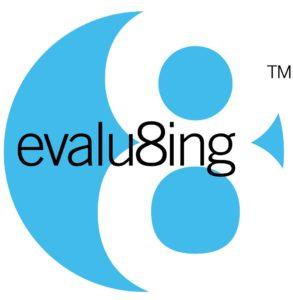 Evalu8ing_LogoCapriBlue