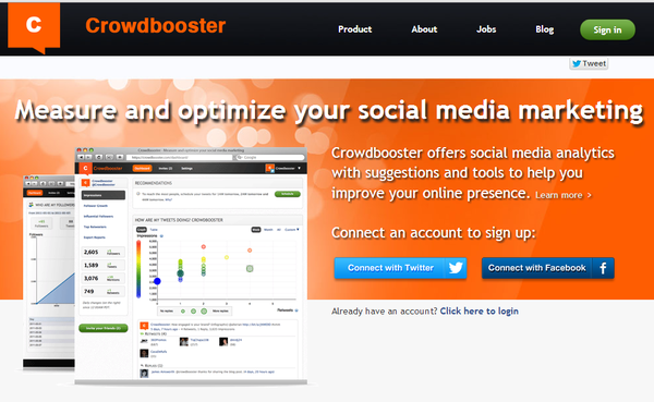 Crowdbooster social media marketing
