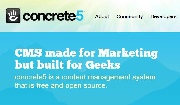 Concrete5 CMS