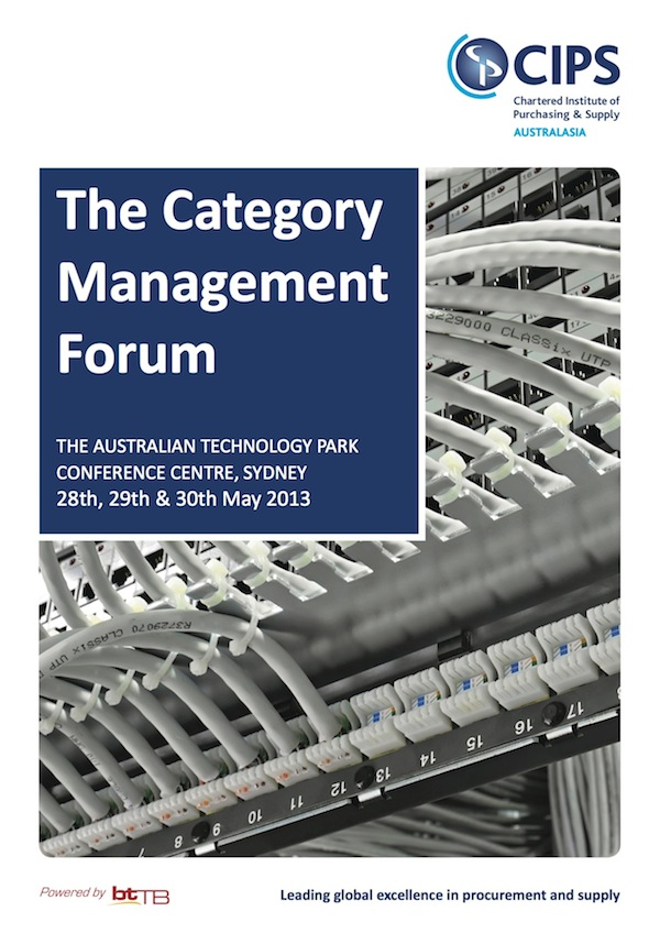 The Category Management Forum Brochure
