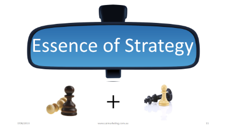 Essence of marketing strategy