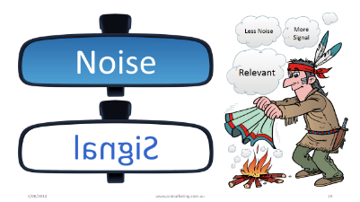 Language and noise