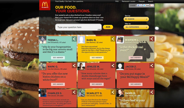 what are mcdonalds customer needs Mcdonalds marketing strategies 1 mcdonaldsfeels that before they communicate with their customers they need to beaware of what their competitors are communicating this effort -.