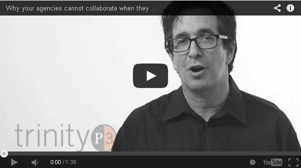 Agencies cannot collaborate when competing for your budget