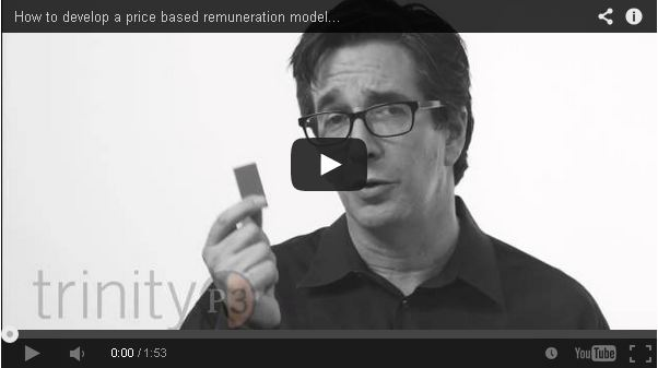 How to develop a price-based remuneration model