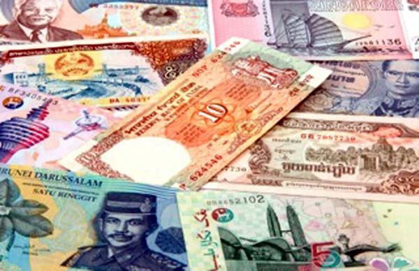 money in asia
