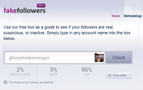 Twitter follower analysis