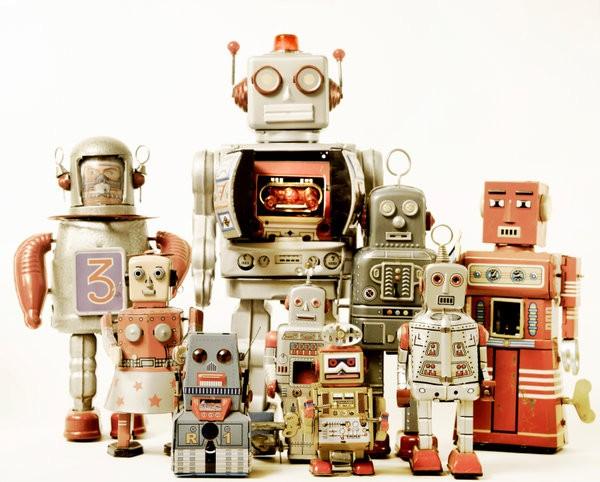 Robot Twitter followers