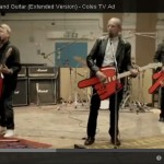 Big red hand guitar-Coles TV ad
