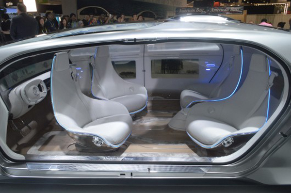 Mercedes-Benz 2015 interior