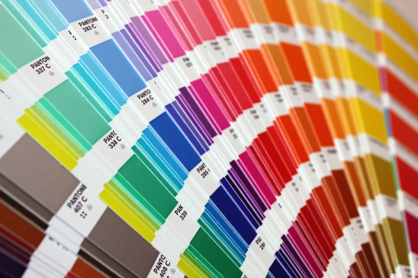 Graphic design - pantone colours