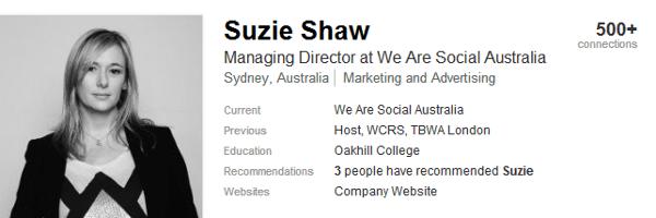 Suzie Shaw