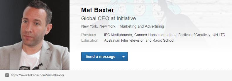 Mat Baxter