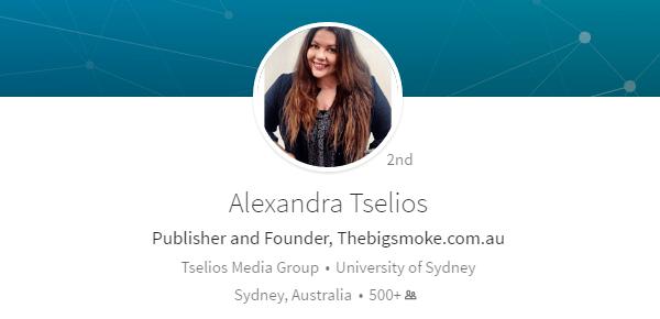 Alexandra Tselios Podcast