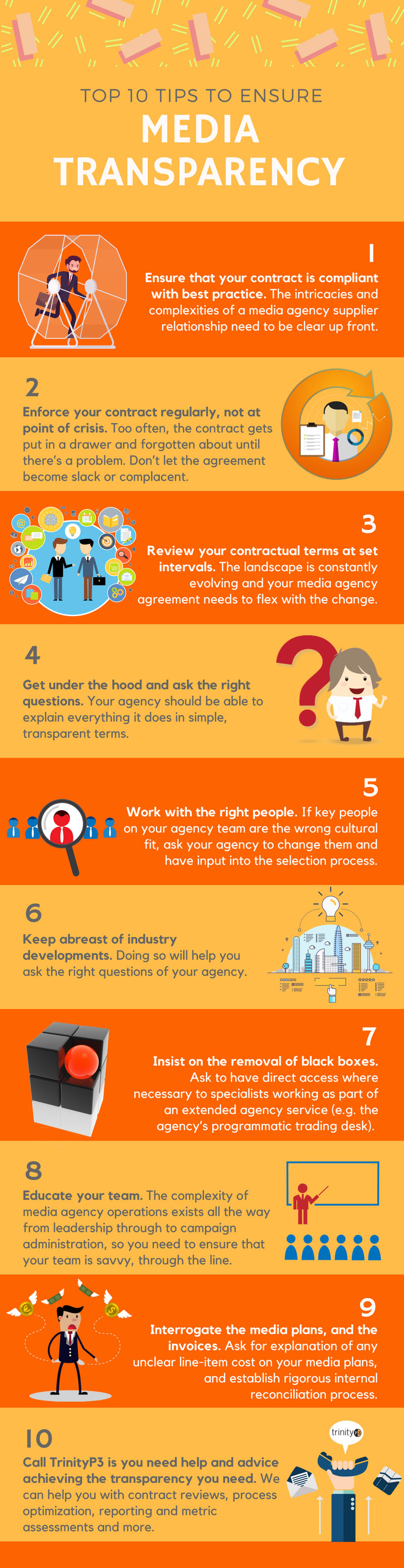 Top 10 tips to ensure media transparency