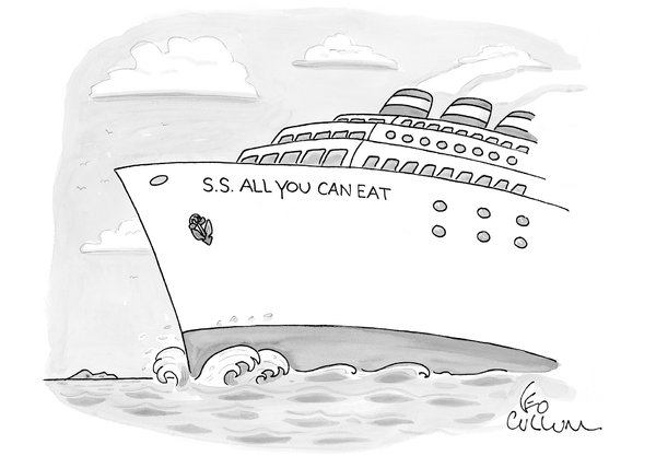 Ad agencies are like cruise ships.