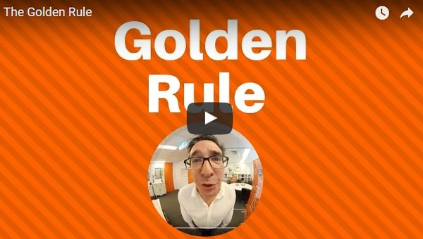 Golden rule in marketing