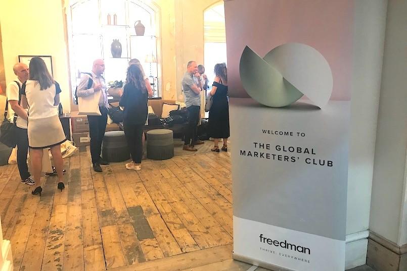 Global Marketers Club Meeting