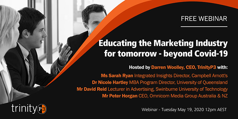 Educating the Marketing Industry for tomorrow