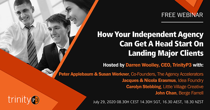 How your independent agency can get a head start on landing major clients