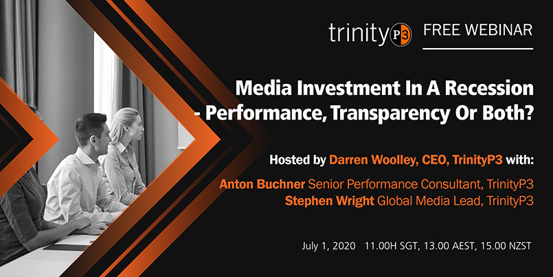 Media Investment in a Recession - Performance, Transparency or Both?