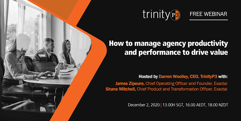 How to manage agency productivity and performance to drive value