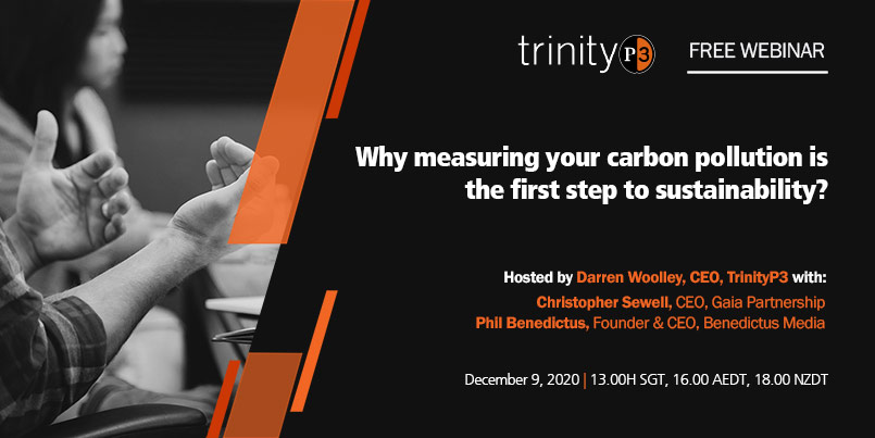 Why measuring your carbon pollution is the first step to sustainability?
