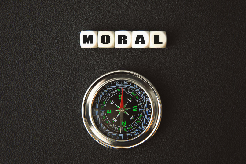 Moral compass for brand future